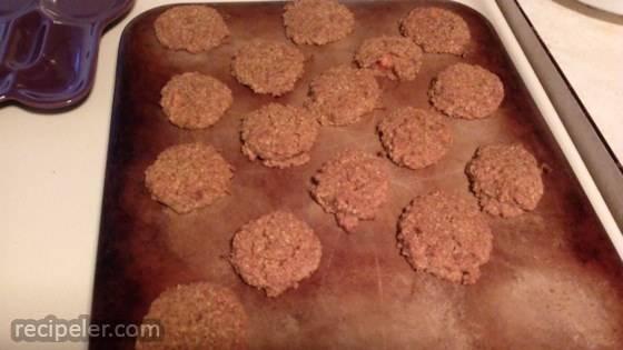 Paleo Carrot Cake Cookies