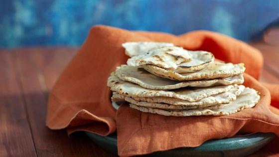 paleo cassava flour tortillas