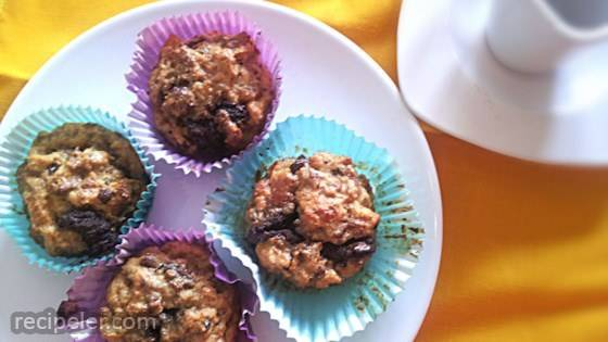 Panettone Muffins with Chocolate