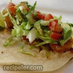 Panko-Fried Salmon Fish Tacos