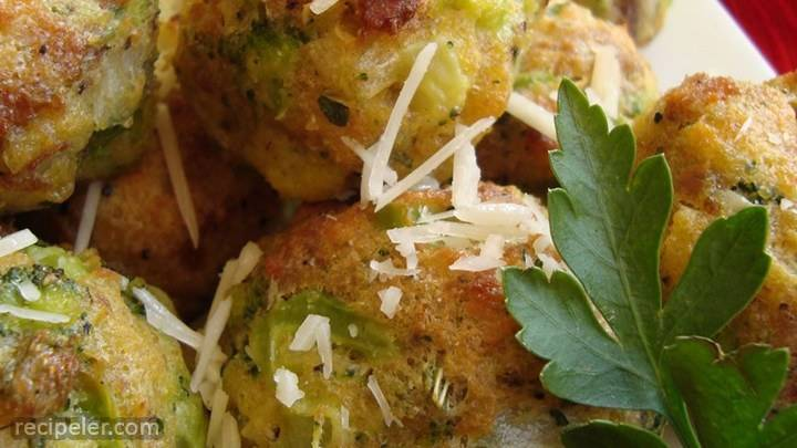 parmesan broccoli balls