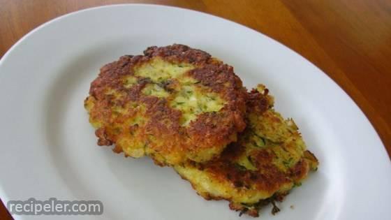 Parmesan Zucchini Patties