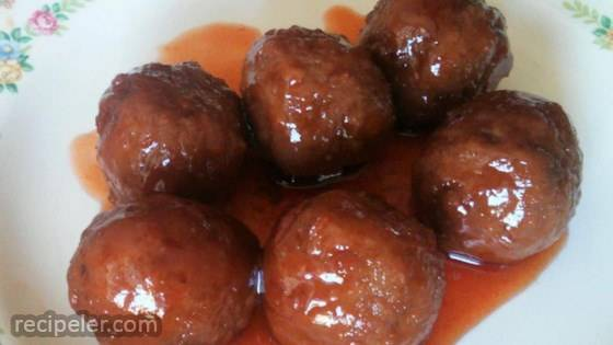 Party Cocktail Meatballs