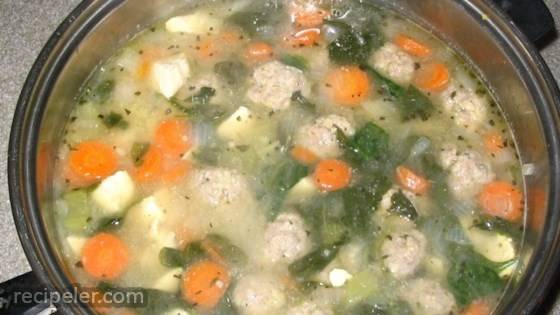 party talian wedding soup