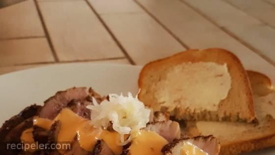 Pastrami-Spiced Duck Breast Reuben