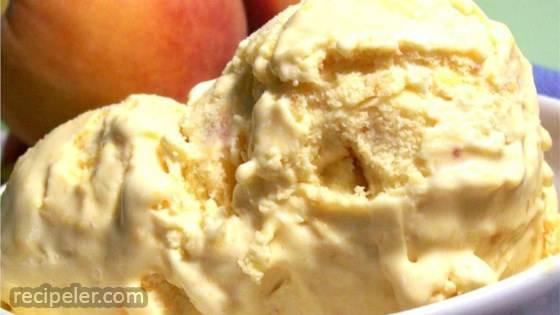 Peach ce Cream