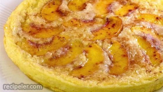 Peachy Baked Pancake