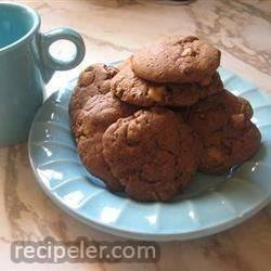 Peanut Butter and Chocolate Peanut Butter Cup Cookies