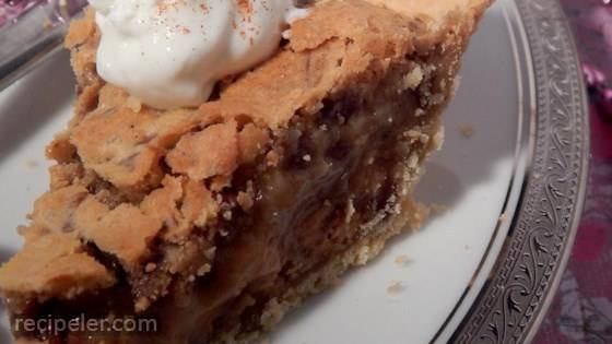 Peanut Butter Chip Pecan Pie