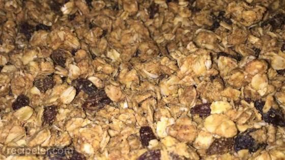 Peanut Butter Granola