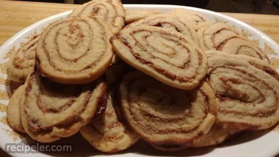 Peanut Butter Pinwheel Cookies