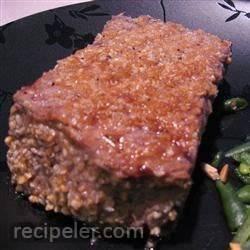 Peanut Sesame Rib-Eye Steak