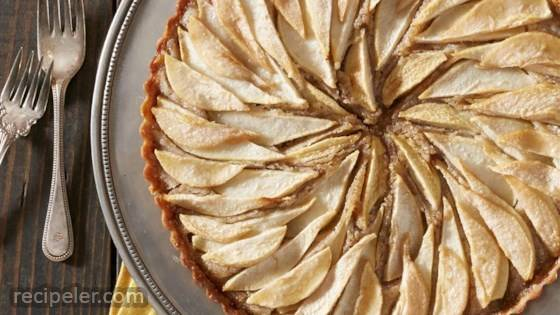 Pear and Hazelnut Frangipane Tart
