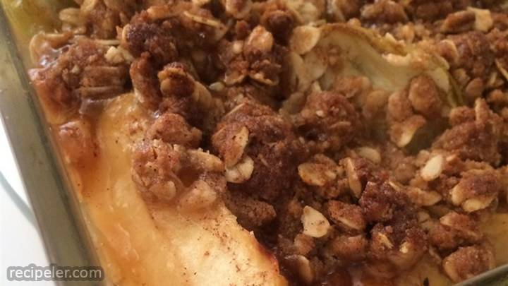 pear or apple cobbler