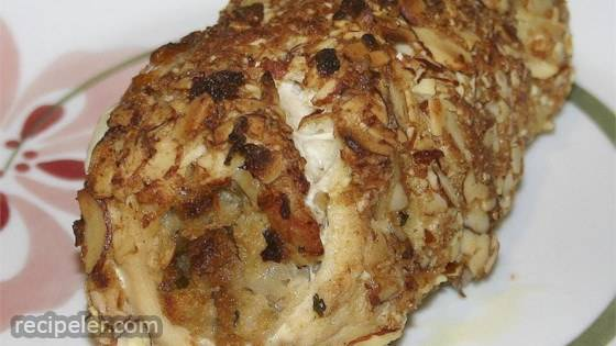 Pecan Encrusted Stuffed Chicken Breasts