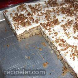 Peggy's Frosted Banana Bars