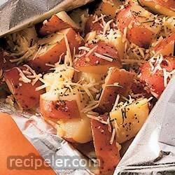 Perfect Garlic and Parmesan Potatoes