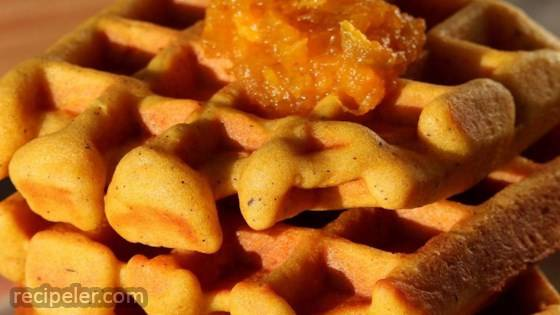 Perfect Gluten-Free Pumpkin Waffles