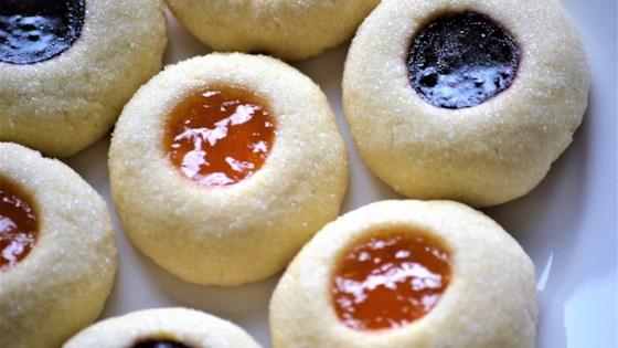 perfect thumbprint cookies