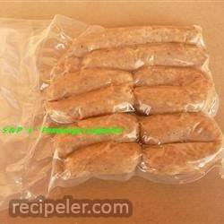 Philippine Longanisa de Eugenio (Sweet Sausage)