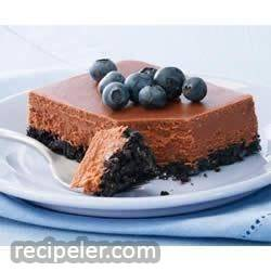 PHLADELPHA Double-Chocolate Cheesecake