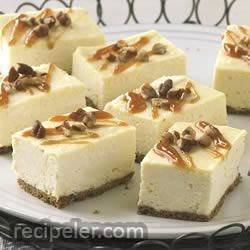 PHLLY Caramel Cheesecake Bars