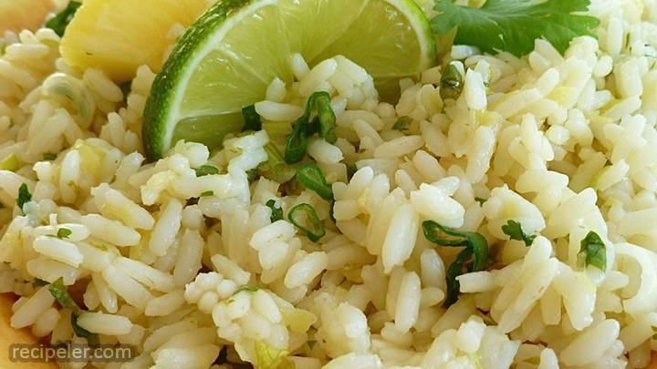 Pineapple-lime Rice