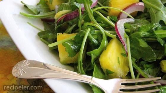 Pineapple Rocket Salad
