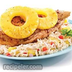 Pineapple Spiced Chicken And Rice