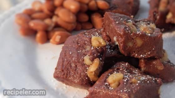 Pinto Bean Fudge