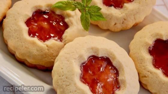 Plum Jam Cookies