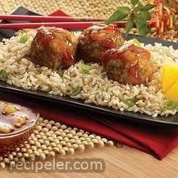 Polynesian Meatballs
