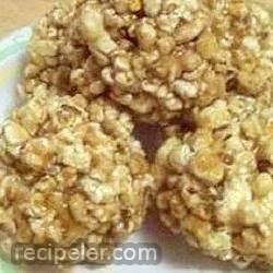 Pop's Molasses Popcorn Balls And Taffy