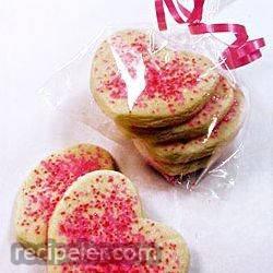 pope's valentine cookies
