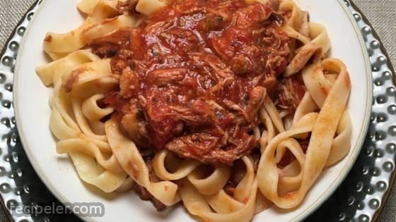 Pork and Shiitake Mushroom Ragu
