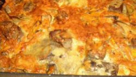 pork and vegetable casserole