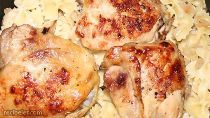 portobello lemon chicken