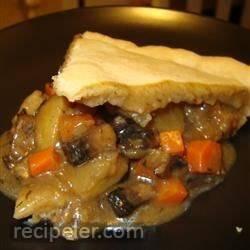 Portobello Pot Pie
