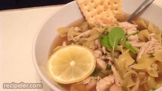 Portuguese Chicken Soup