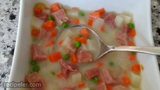 Potato and Ham Stew