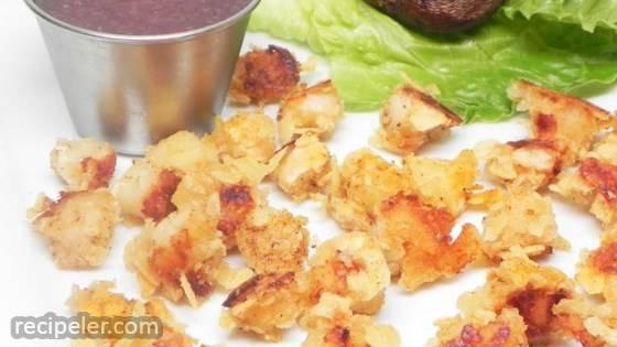 Potato-Crusted Scallops