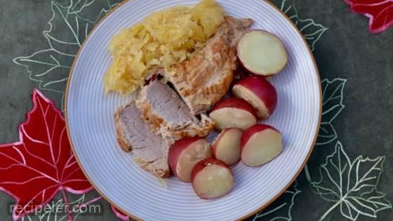 Pressure Cooker Pork