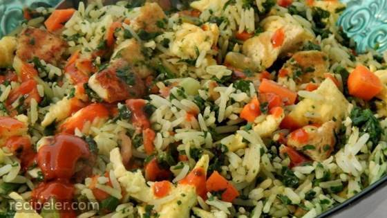 Protein-Packed Vegetarian Fried Rice