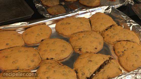 Protein Peanut Butter Chocolate Chip Cookies