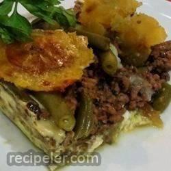 Puerto Rican Shepherd Pie (Pastelon)
