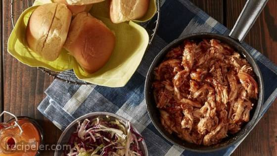 Pulled BBQ Chicken Sliders