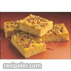 pumpkin cheesecake bars from eagle brand®