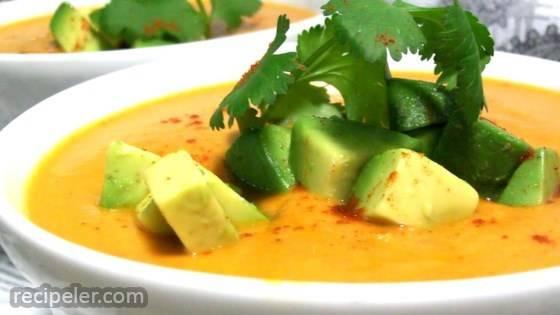 Pumpkin Chipotle Soup