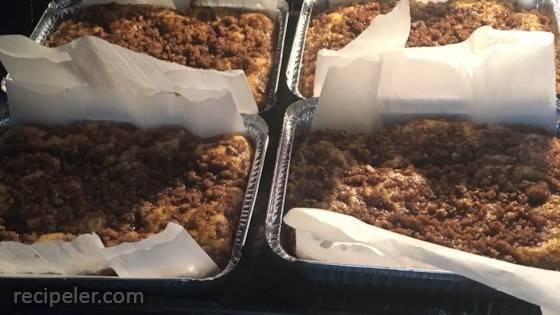 Pumpkin Crunch Coffee Cake