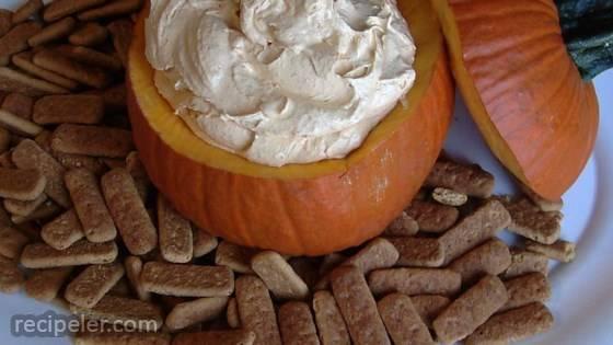 Pumpkin Fluff Dip